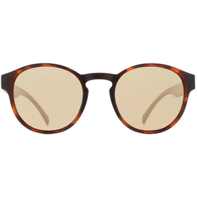 Red Bull SPECT Soul Sunglasses matte brown havana/smoke-gold flash